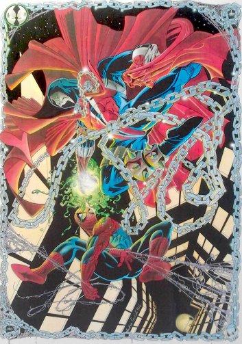 SPIDERMAN WS. SPAWN - ecoline- 1993